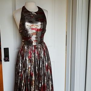 NWD Alice & Olivia Silk Dress Sz 6 (NA1)